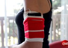 An old tube sock as a workout armband? Get the steps to make this supereasy (and very comfy!) accessory that stores your phone while you sweat it out. Read this blog post by Sharon Vaknin on How To. @Nicole Walker