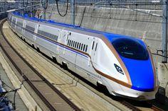 E7 JREast Bullet Train [Kagayaki] [Hakutaka] [Tsurugi]