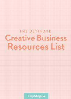 Resources for your Creative Business: find out where to get free stock photos, graphic elements, fonts and more.