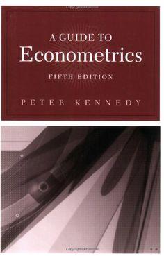 A Guide to Econometrics, 5th Edition (MIT Press) by Peter... https://www.amazon.com/dp/026261183X/ref=cm_sw_r_pi_dp_x_6yyAybTBQ9544
