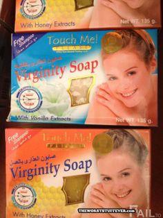 Virginity Soap ~~ Keep those unused genitals clean, everyone!