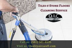 Welcome to Quality Air Care, we are professionally trained and experienced tile cleaners taking care of your natural stone floors and tiles efficiently and thoroughly clean in your home. For more information, call us: or visit us. Clean Air Ducts, Air Care, Natural Stone Flooring, Duct Cleaning, Delray Beach, Cleaning Service, South Florida, Floors, Tiles