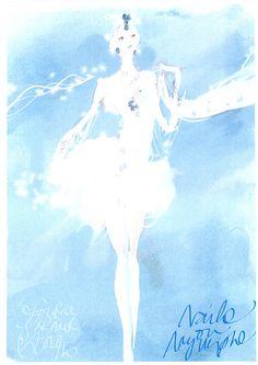 Les costumes du ballet La Source par Christian Lacroix   http://www.pinterest.com/adisavoiaditrev/