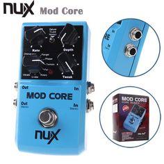 NUX MOD Core Guitar Effect Pedal 8 Modulation Effects Preset Tone Lock Guitarra Pedal High Quality Guitar parts & Accessories