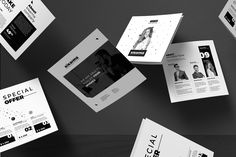 Square Brochure Trifold on Behance