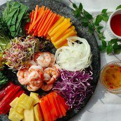 Indian Food Recipes, Diet Recipes, Cooking Recipes, Healthy Recipes, K Food, Food Menu, Korean Dishes, Korean Food, Cheese Fruit Platters