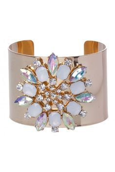 Colette Hayman Crystal Cluster Cuff in Multi - 15283 - from @colette by colette hayman (AUD $16.95).