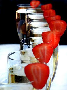 Strawberry Champagne by g crawford