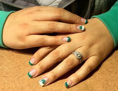 This is the best nail design for St. Patrick's Day!
