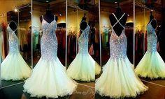 Image via We Heart It #dress #lightgreen #Prom