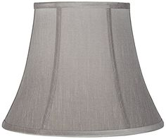 Pewter Gray Bell Lamp Shade 8x14x11 (Spider) >>> Check out this great product. (This is an affiliate link and I receive a commission for the sales)