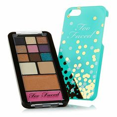 Too Faced Jingle All the Way Palette w/Phone Case