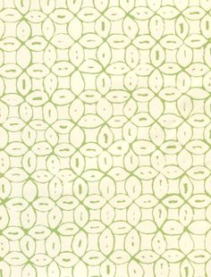 Melong Batik jungle green on off white wall paper