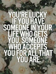 It's more than luck, it's a gift  and blessing from God...