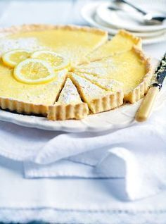 Simple, French, Perfect Tarte au Citron, or Lemon Tart(Simple Baking Treats) Tart Recipes, Sweet Recipes, Baking Recipes, Dessert Recipes, Quick Recipes, French Desserts, Lemon Desserts, Just Desserts, French Recipes