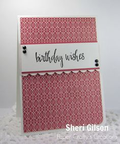 Paper Crafty's Creations : Happy Birthday |FMS200 & STB