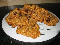 Vegan chocolate chip oatmeal cookies. (could use vegan chips or vegan carob chips)