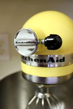 I <3 my yellow Kitchen Aid