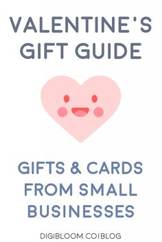 Shop small for Valentine's Day and support independent businesses! Give unique gifts and cards that are made by hand with love, for your love.