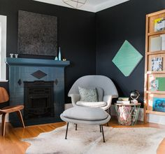 Color and Pattern in a Designer's Own Home | Rue