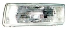 1991-1992 Nissan Sentra Headlamp LH
