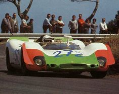 1969 Targa Florio, the #272 Porsche 908/02 entered by Porsche AG and driven by Kauhsen / von Wendt  finished in 4th place overall and in 4th in the P3.0 class.