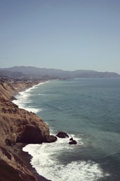 Pacifica, California, along Highway 1