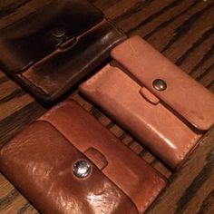 Cyril Leather wallets. Sore Hands, Old Tools, Leather Wallets, Antique Tools, Vintage Tools, Leather Purses, Men's Leather Wallets