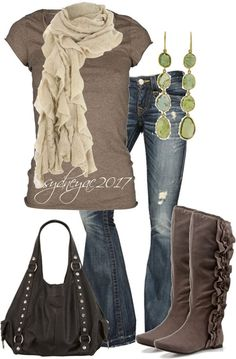 awesome Latest Casual Winter Fashion Trends and Ideas 2013