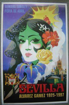 Feria de abril Sevilla  Alvarez Gamez 1925-1997