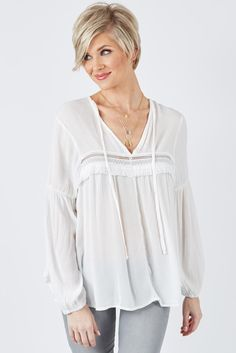 Aurora Top $58 | The #1 boutique for moms! $5 Flat Rate Shipping + FREE shipping on all orders over *$50. #Evereve