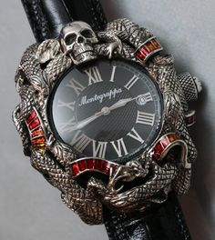 Montegrappa Chaos Watch For Stallone Hands On montegrappa