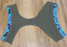 Návod na bavlněné kalhotky « Nitě všude Diy Sewing Projects, Sewing Hacks, Sewing Crafts, Underwear Pattern, Bra Pattern, Sewing Patterns Free, Refashion, Diy Clothes, Fabric