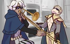 when milord isn't home - Odin and Niles ~ Im dying inside, help