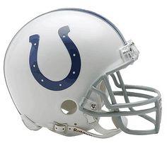 NFL Indianapolis Colts Replica Mini Football Helmet by Riddell. $21.99. Riddell Indianapolis Colts NFL Replica Mini Helmet w/Z2B Mask