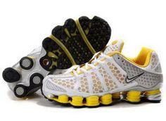 Nike Shox TL3 - White Yellow Mens