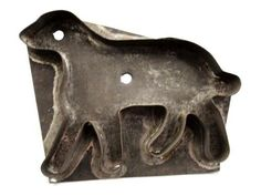 antique TIN flatback early ORIG.SHEEP/LAMB COOKIE CUTTER prim americana EASTER   eBay