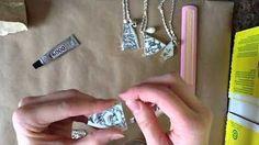 How to Make Broken China Jewelry - YouTube