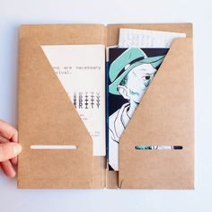 Midori Traveler's Notebook: 020 Kraft File Folder