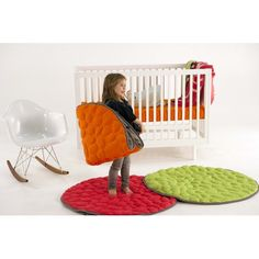 Nook Sleep Systems LilyPad Play Mat. A must-have for nurseries & playrooms!