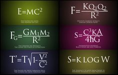 Needless to say, here are some of the most important equations in physics.