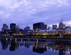 Montréal and Québec City, situated on the mighty St. I love Canada! Places To Travel, Places To Go, St Lawrence, Quebec City, Vacation Spots, Seattle Skyline, Places Ive Been, Wedding Planner, Beautiful Places