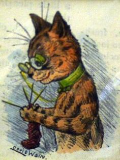 Knitting cat - Tap the link now to see all of our cool cat collections!