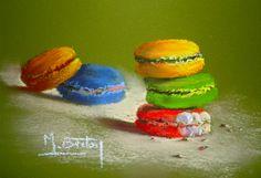 Macarons, Pastels, Facebook, Desserts, Blog, Sweets, Pintura, Sweet Treats, Tailgate Desserts