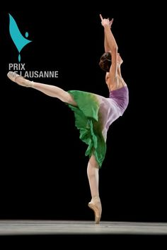 Christopher Wheeldon's There where she loved - © Prix de Lausanne 2010 Sugar plums contemporary
