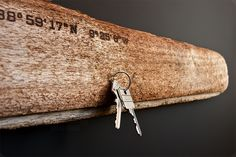 Magnetic Driftwood: Hang Your Keys and Other Metal Objects in Style