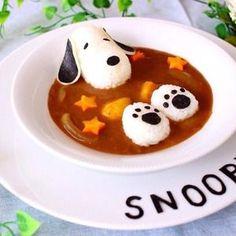 お盆休みに実家に帰ったら、私が小さい頃に使っていたたくさんの スヌーピーグッズを発見~! その中になんとも言え […] Food Art For Kids, Cute Food Art, Creative Food Art, Bento Recipes, Baby Food Recipes, Cooking Recipes, Cooking Tips, Japanese Food Art, Riced Veggies