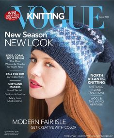 Launched over 30 years ago, Vogue Knitting has set the bar for knitting, working with the biggest and most talented names in fashion today, including Michael Kors and Anna Sui. Led by Editor Trisha Malcolm, Vogue Knittig is published quarterly. Vogue Knitting, Knitting Books, Knitting Yarn, Knitting Patterns Free, Knit Patterns, Free Knitting, Crocheting Patterns, Magazine Crochet, Knitting Magazine