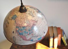 cool globe light
