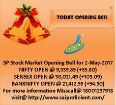 SP Stock Market Opening Bell for 2-May-2017